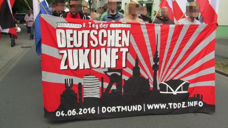 """Hamm: DIE RECHTE mobilisierte für den """"Tag der deutschen Zukunft"""""""