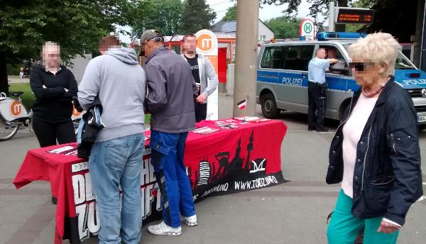 TddZ: Infostand in Dorstfeld läutet letzte Woche der Mobilisierung ein!