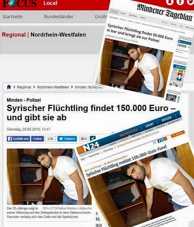 "Lügenpresse feiert den ""150.000-Euro-Flüchtling"""