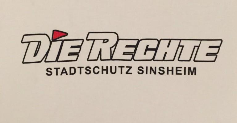 Erste Stadtschutzaktion in Sinsheim