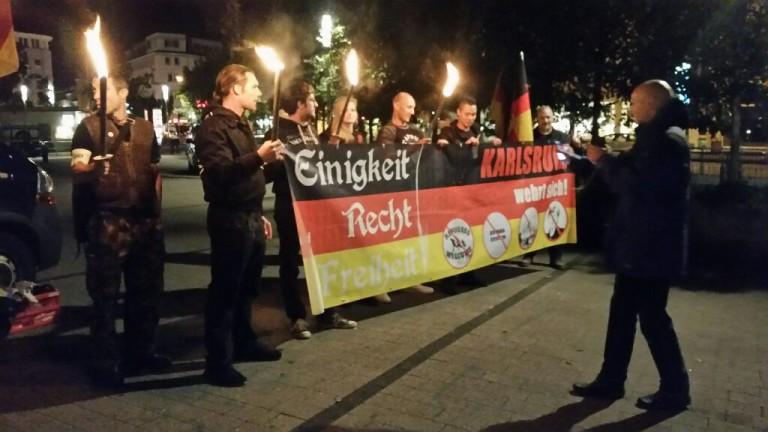 """Bericht zur Demonstration von """"Karlsruhe wehrt sich"""" am 07.10.2016"""
