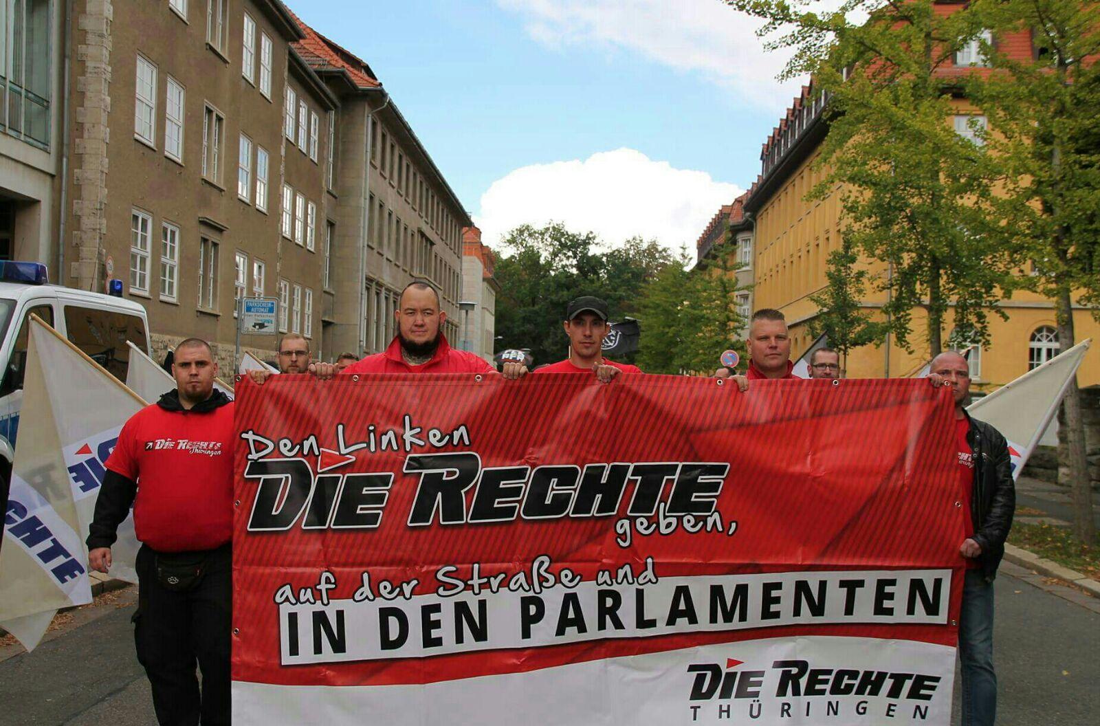 Reconquista oder Untergang: Demonstration am 02.10. in Weimar