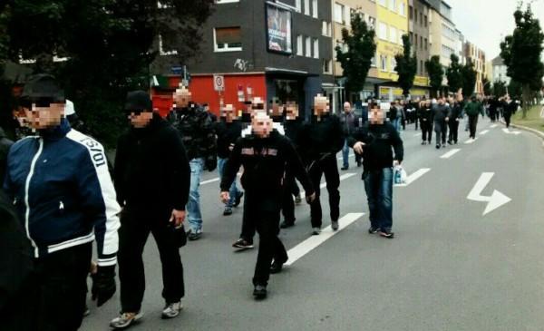 500-600 Teilnehmer bei GSD-Kundgebung in Dortmund, riesiges Polizeiaufgebot und spontane Aktionen