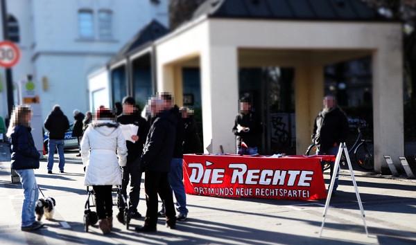 Dortmund-Dorstfeld: DIE RECHTE informierte über maßlosen Polizeieinsatz der vergangenen Woche