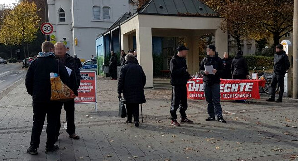 Dortmund-Dorstfeld: Kampagne für wirkliche Bürgersicherheit mit Mahnwache gestartet!