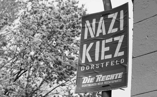"""""""Nazi Kiez""""-Plakate: Stadt holt zum Gegenschlag aus / DIE RECHTE beantragt einstweilige Anordnung"""