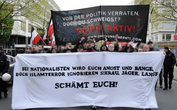Dortmund: 150 Aktivisten gehen gegen Staatswillkür und Islamismus auf die Straße!