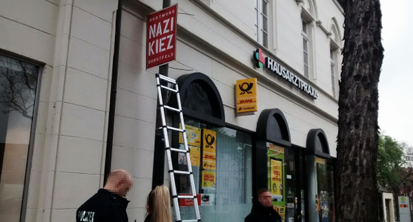 """Dortmund-Dorstfeld: Weitere Repressionen gegen Plakatierer von DIE RECHTE – Posse um """"Nazi Kiez"""""""