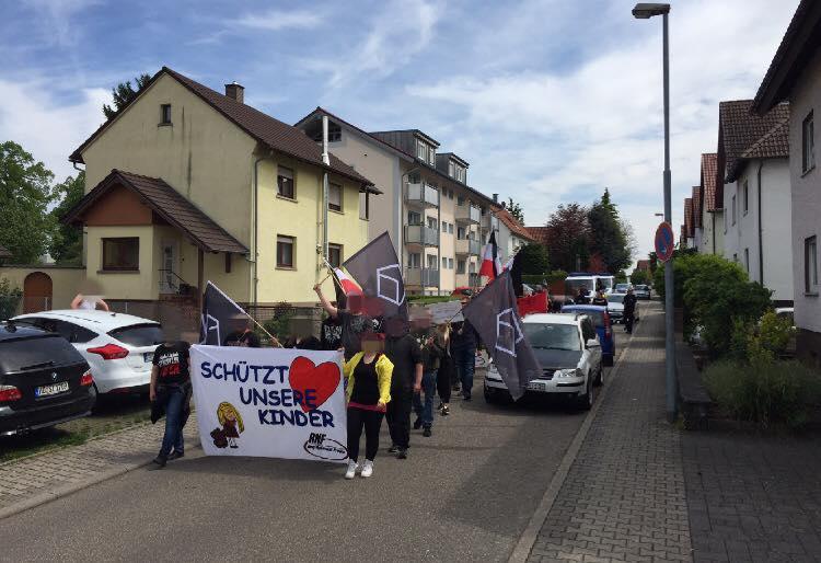 Bericht zur Demonstration gegen Kinderschänder in Sinsheim