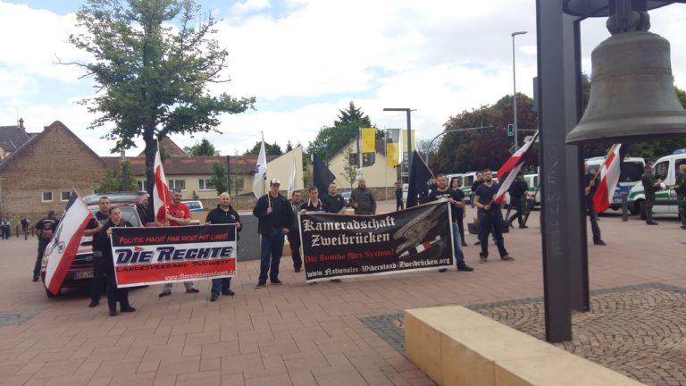 Alzey bleibt national – Demo vom 13.05.2017