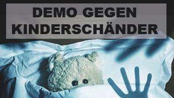 Demonstration gegen Kinderschänder am 6. Mai in Sinsheim (Baden-Württemberg)