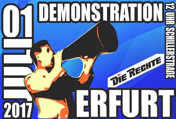 Volkswirtschaft statt Finanzlobbyismus! Demonstration in Erfurt am 1. Juli 2017