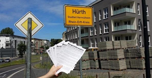 Hürth: Flugblattaktion nach sexuellem Übergriff durch Ausländergruppe
