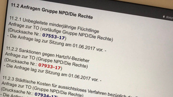 Nachtrag: Anfragen und Antworten zur Dortmunder Ratssitzung am 13. Juli 2017