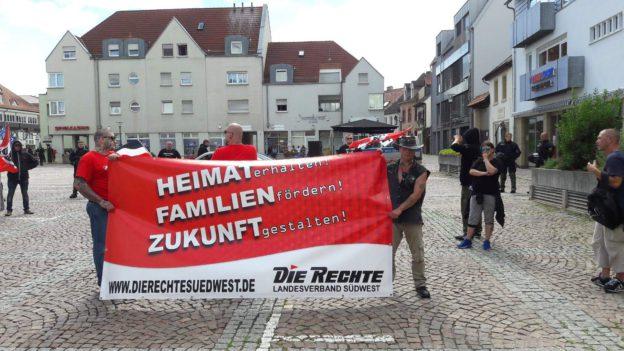 5.8.2017: Schon wieder Alzey-Demo! Konsequent für deutsche Interessen! Alzey bleibt national!!