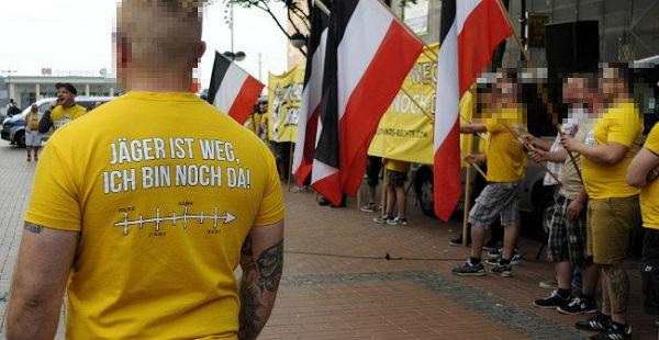 Störungsfreie Kundgebung gegen NWDO-Verbot und starke Proteste gegen Antifademo nach Dorstfeld!