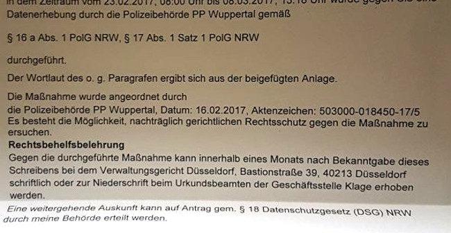 Überwachung: Polizei observierte Umfeld von einem Nationalisten nach Haftentlassung