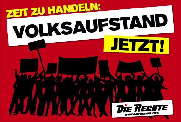 Aufruf an alle Nationalisten: Unterstützt die Volksproteste gegen die Corona-Diktatur!