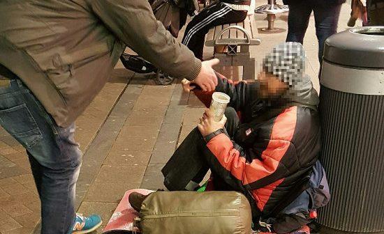 Nationale Solidarität: Dortmunder Aktivisten sammelten Spenden für Obdachlose!