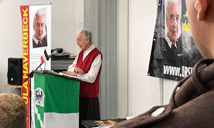 Gelungene Feier zum fünfjährigen Jubiläum des KV Rhein-Erft mit Gastrednerin Ursula Haverbeck!