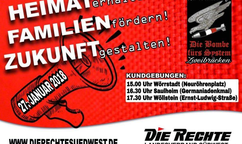 Terminhinweis: Ringkundgebung am 27. Januar 2018 in Rheinland-Pfalz