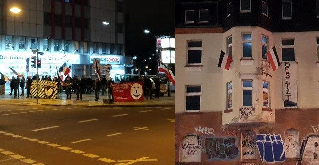Gelungene Kundgebung in der Dortmunder Innenstadt, Hausbesetzung in Dorstfeld!
