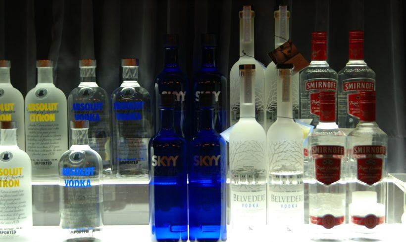 Vodka entfernen, oder er wird entfernt!