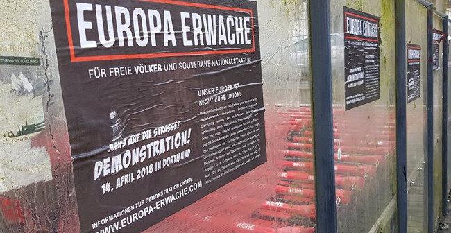 Europa erwache: Plakate für Demonstration in Dortmund aufgetaucht!