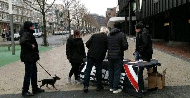 Weitere Infostände in Dortmund durchgeführt