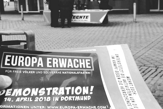 Aktionstag für Europa-erwache-Demo: 22 Infostände in Dortmund und Lünen störungsfrei durchgeführt!