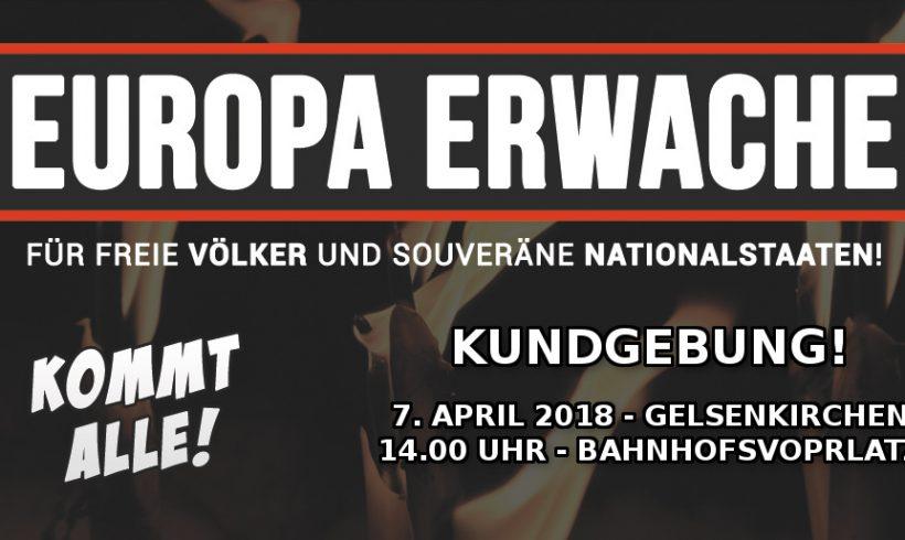 Kundgebung genehmigt – Gelsenkirchen steht Kopf!