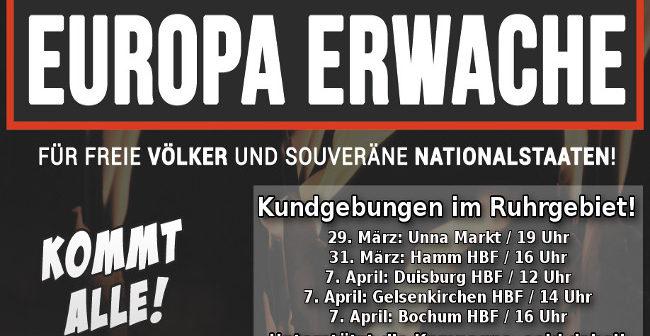 Europa erwache: Beteiligt euch an den Aktionen im Vorfeld! Infoübersicht!