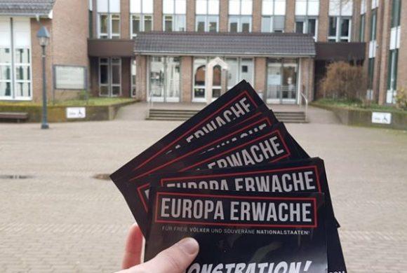 """Weitere Mobilisierungsaktionen für die """"Europa Erwache""""-Demonstration"""