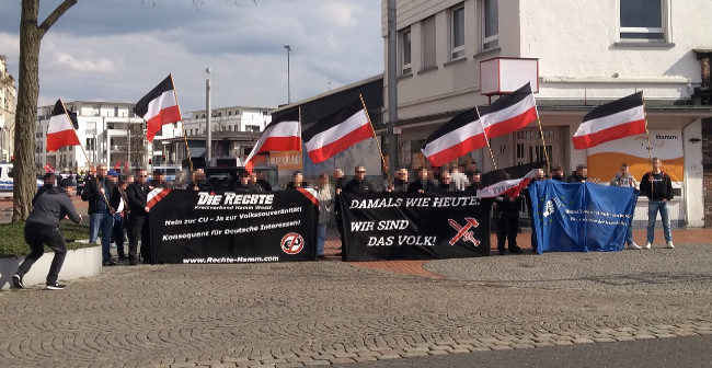 Europa erwache: Mobi-Kundgebung in Hamm, Kundgebungstour im Ruhrgebiet!