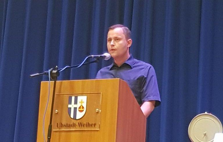 Kandidatenvorstellung mit Philipp Hasselbach in Ubstadt und Weiher [mit Video]