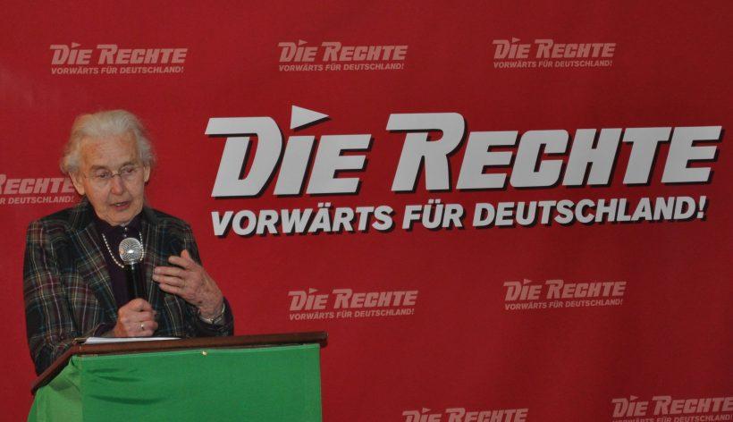 DIE RECHTE wählt Deutschlands bekannteste Dissidentin Ursula Haverbeck zur Spitzenkandidatin für die Europawahl!