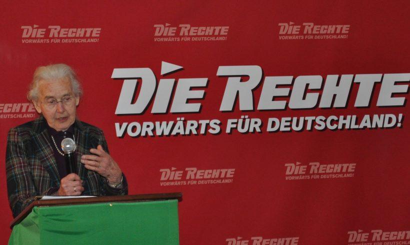 Haftantritt: Ursula Haverbeck soll binnen 7 Tagen ins Gefängnis – Solidarität ist gefragt!