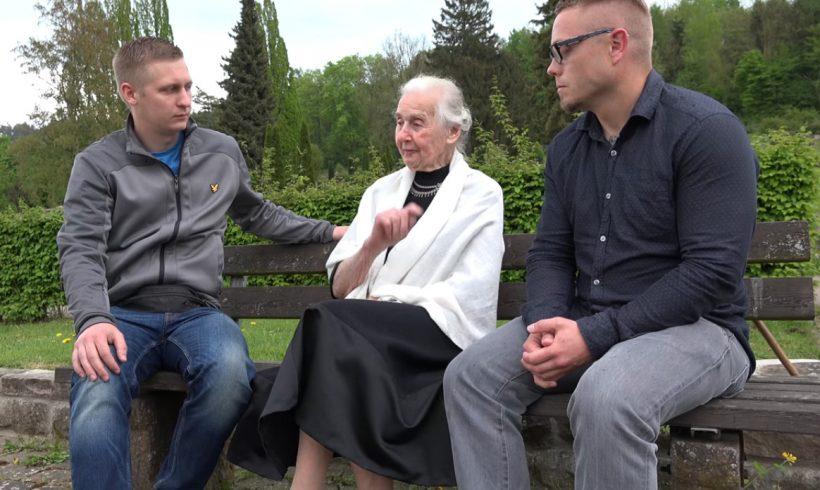 Kurz vor dem Haftantritt: Ursula Haverbeck im Gespräch! [Video]