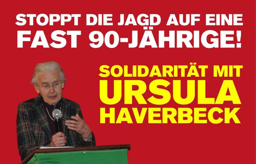 Haftbefehl gegen Ursula Haverbeck erlassen – Polizei soll Dissidentin festnehmen!