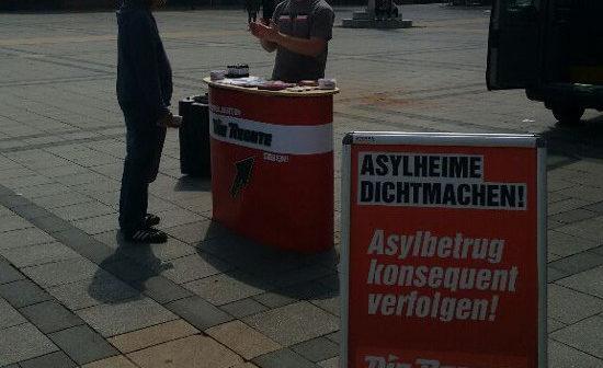 Dortmund: Infostände am Friedensplatz und in Huckarde durchgeführt