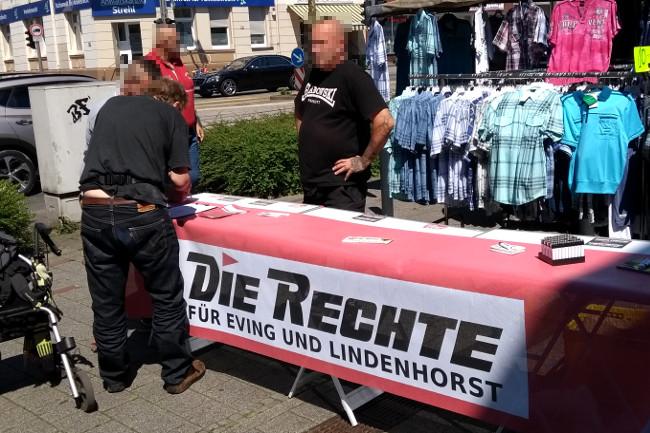 Dortmund-Eving: Erneuter Infostand beim Wochenmarkt durchgeführt