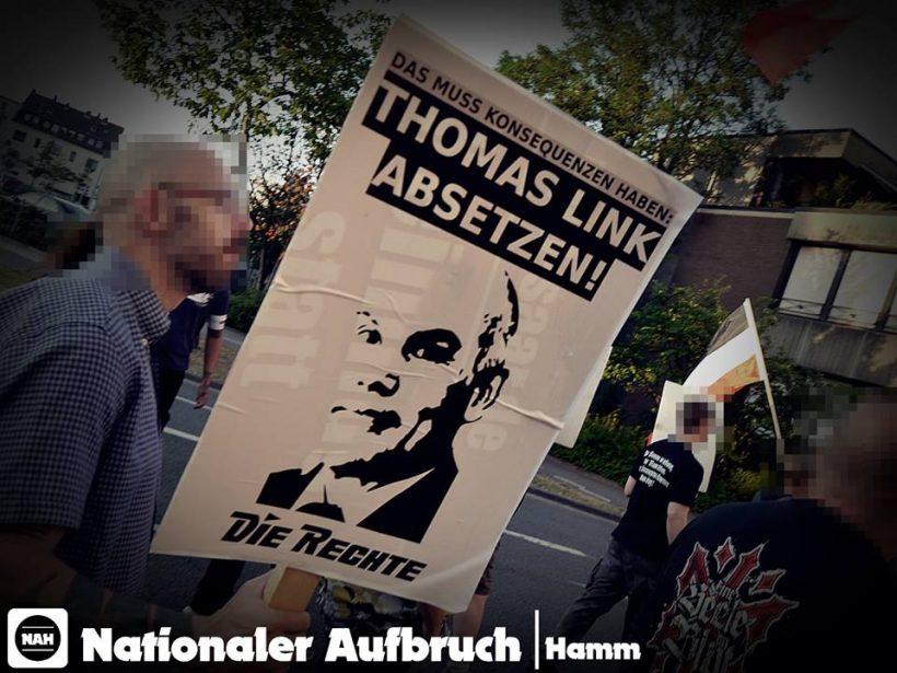 Erfolgreiche Demonstration gegen Polizeiwillkür in Hamm