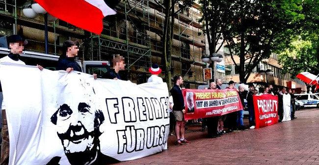 Dortmund: 70 Aktivisten bei Solidaritätskundgebung für Ursula Haverbeck