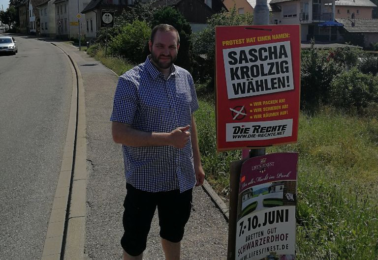 Härter bestraft als die Mörder von Köthen: DIE RECHTE-Parteivorsitzender Sascha Krolzig wegen Kneipenschlägerei zu Haftstrafe verurteilt!