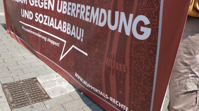 Kundgebungstour: DIE RECHTE unterwegs in Wuppertal