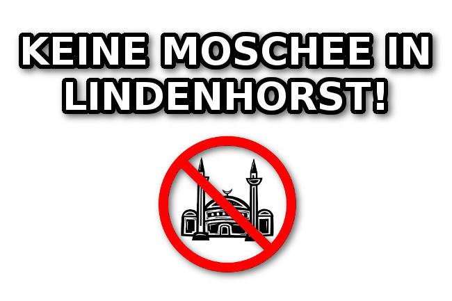 Dortmund: Diesen Freitag (20. Juli) Demonstration gegen Moscheebau in Lindenhorst!
