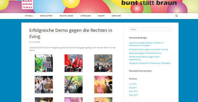 """Nach """"Gegendemo"""" in Dortmund-Eving: Arbeitskreis """"gegen Rechts"""" mit Fake-News!"""
