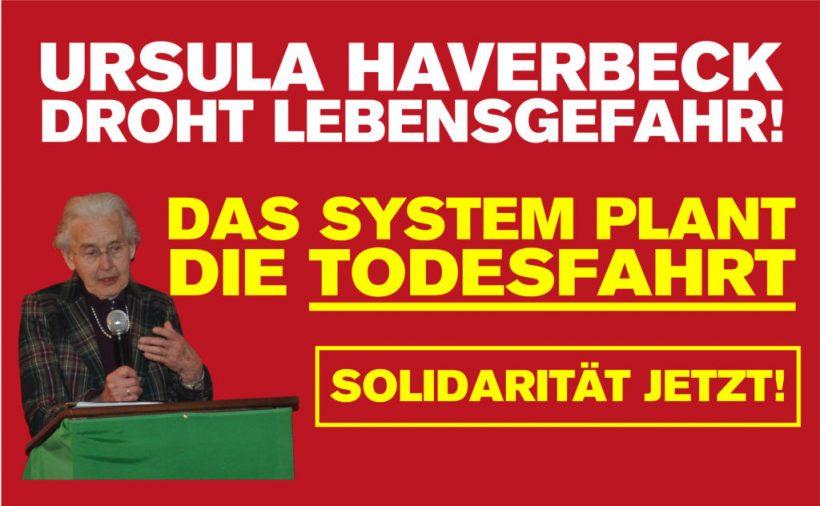 Haverbeck-Prozeß: Am 12. September (Mittwoch) Kundgebung vorm Hamburger Landgericht!