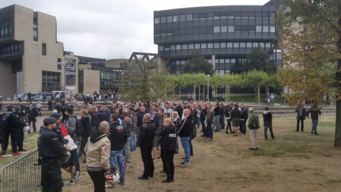 Aus Trauer wird Wut und Widerstand: DIE RECHTE unterstützte Proteste auch in Düsseldorf