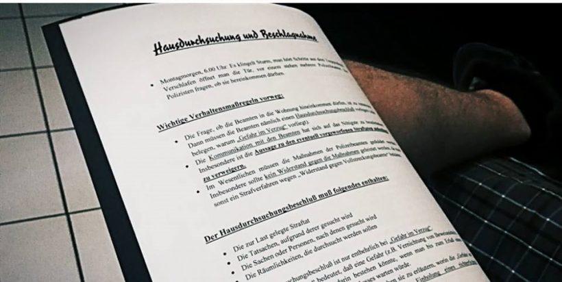 Rechtsschulung mit Sascha Krolzig in Hamm durchgeführt